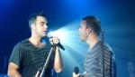 Robbie et Gary  au concert à Paris au Alhambra 10/10/2010 C2f9b6101962443
