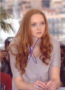 Lily Cole In Person Autographs 20.01.11 (3X)