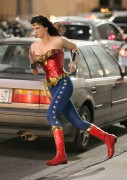 Adrianne Palicki - On the set of Wonder Woman in LA 03/29/11