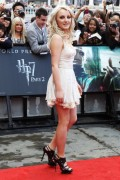 Evanna Lynch - Deathly Hallows part 2 London premiere