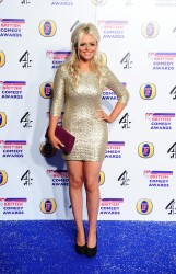 Emily Atack at The British Comedy Awards in London 16th December x15