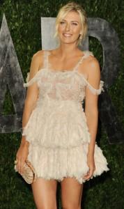 Мария Шарапова, фото 6380. Maria Sharapova 2012 Vanity Fair Oscar party - 26.2.2012, foto 6380