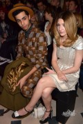 Nicola Roberts at Paris Fashion Week 6th March x4