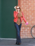 Линдси Лохан, фото 23091. Lindsay Lohan - out and about in Beverly Hills 03/08/12, foto 23091