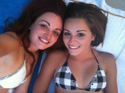 Maria Kanellis and Her Sister- Bikini Twitter Pic
