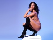 Janice Dickinson : One Naked Wallpaper