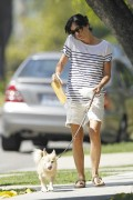 Сельма Блэйр, фото 3. Selma Blair 'Walking her Dog in L.A.' August, photo 3