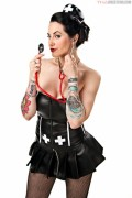"Daffney/Shannon Spruill: New ""Naughty Nurse"" TNA Knockout Photo Shoot (x12 Pics)"