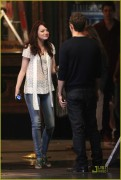 Emma Stone-On Set of  Friends With Benefits- August 27, 2010